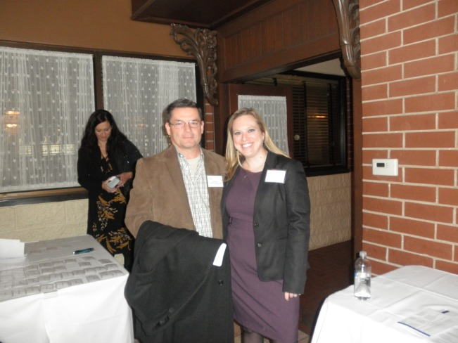 National President, Buck Runyan and our Chapter President, Michelle Gebhardt