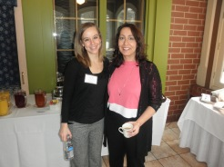Our Social Media Chair, Michelle and Dr. Ellen Astrachan-Fletcher (PRESENTER)