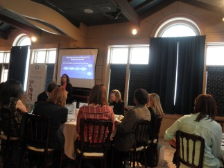 Dr. Astrachan-Fletcher speaking on DBT and Eating Disorders